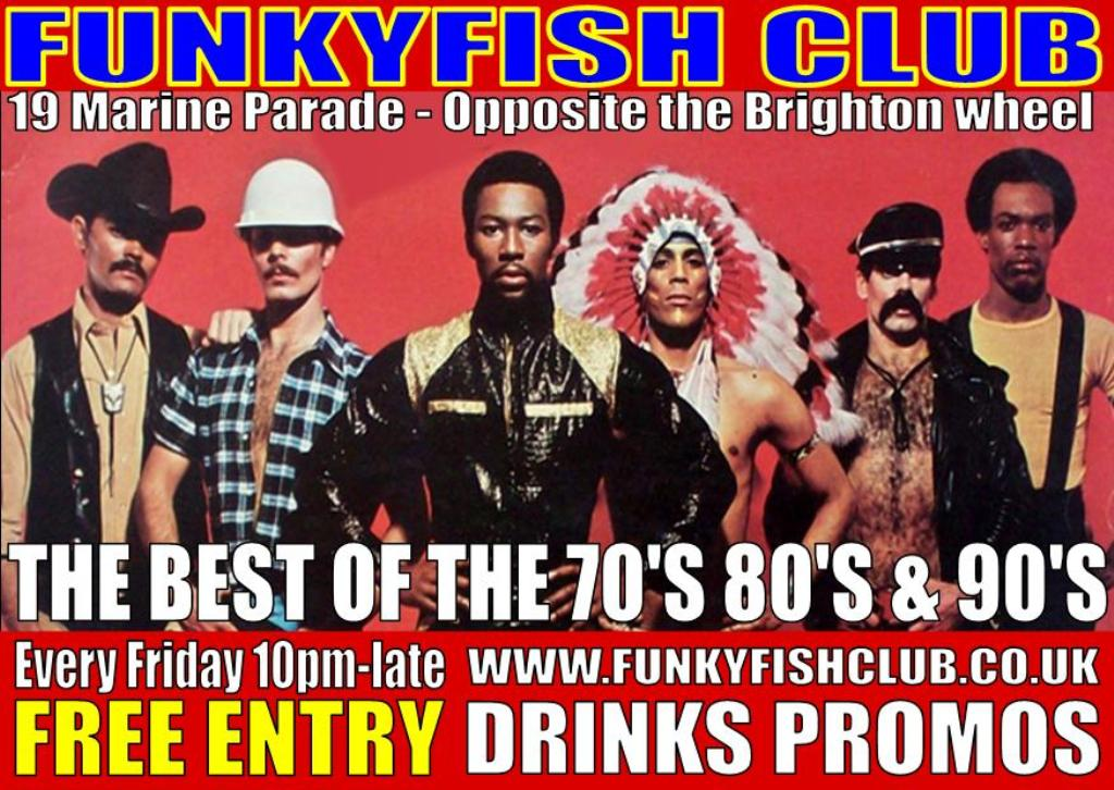 Fridays at the funkyfish