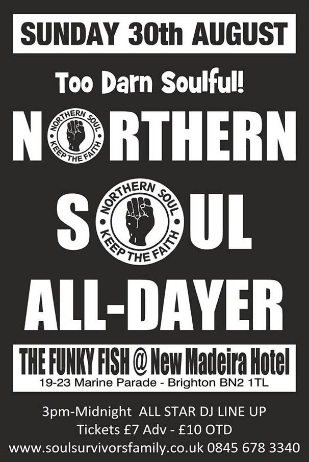 NORTHERN SOUL AUGUST 2015
