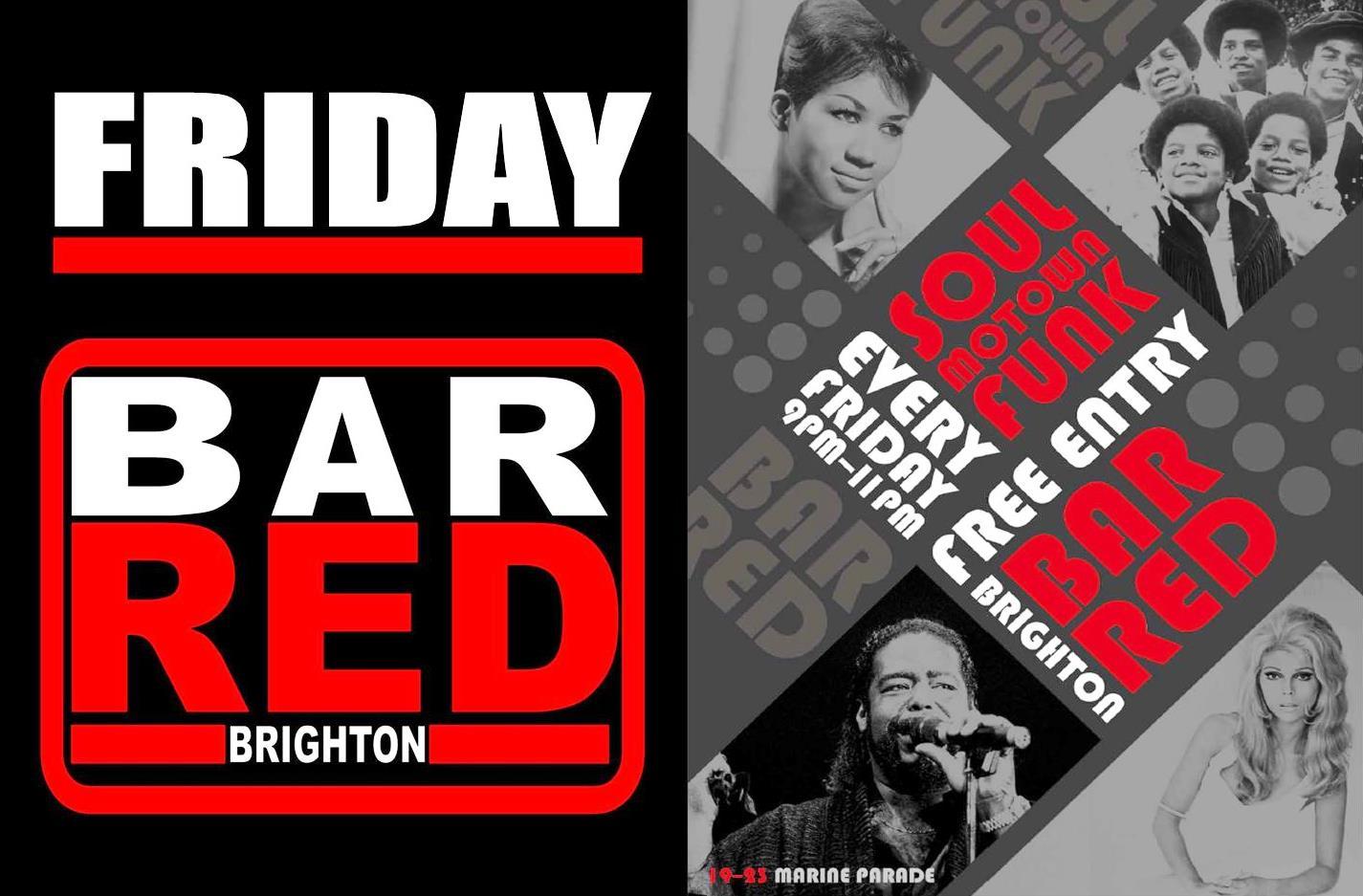 Bar RED Friday