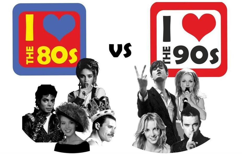 I Love the 80s I love the 90s