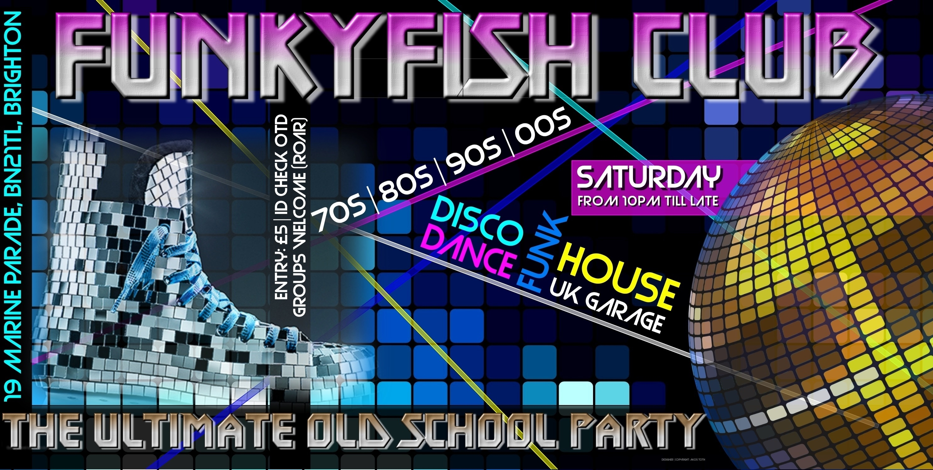 EVERY SATURDAY - THE ULTIMATE OLD SCHOOL PARTY