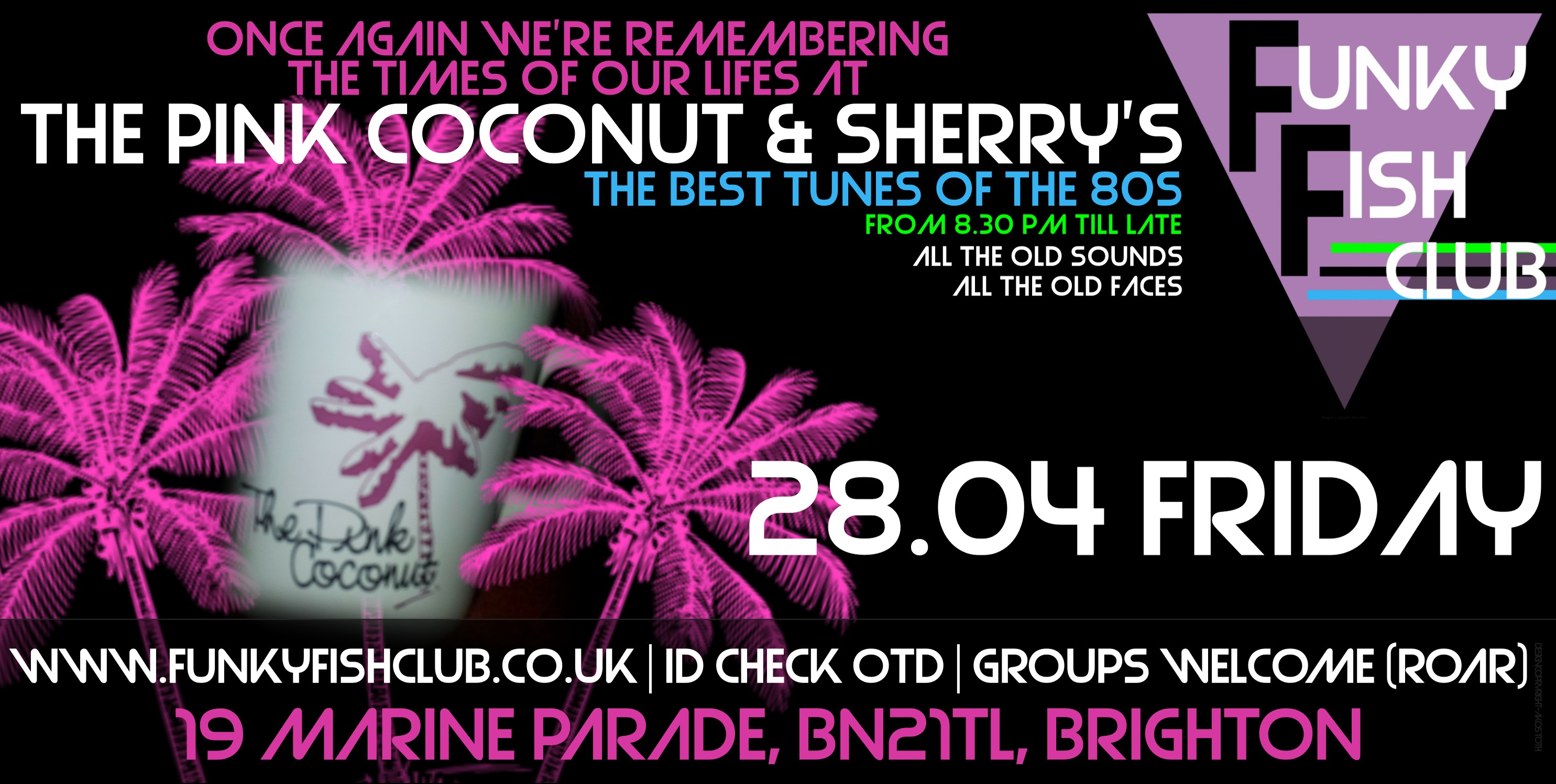 PINK COCONUT & SHERRY'S REVIVAL NIGHT
