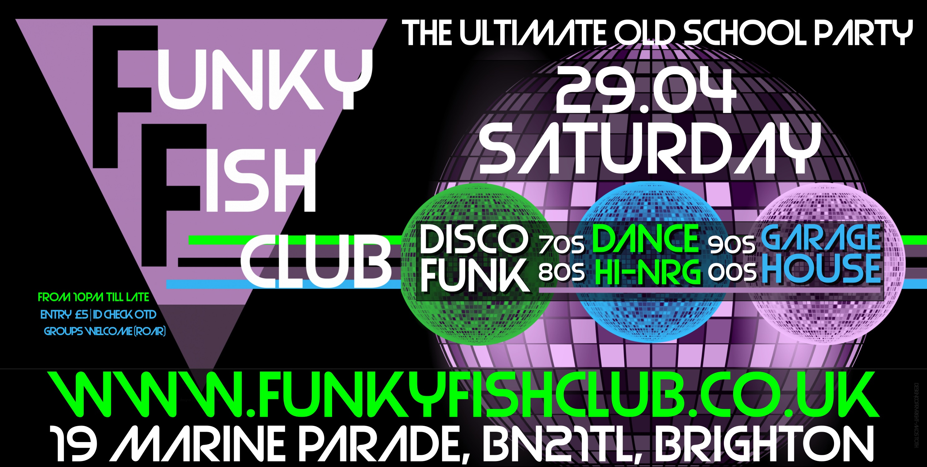 SATURDAY - THE ULTIMATE OLD SCHOOL PARTY