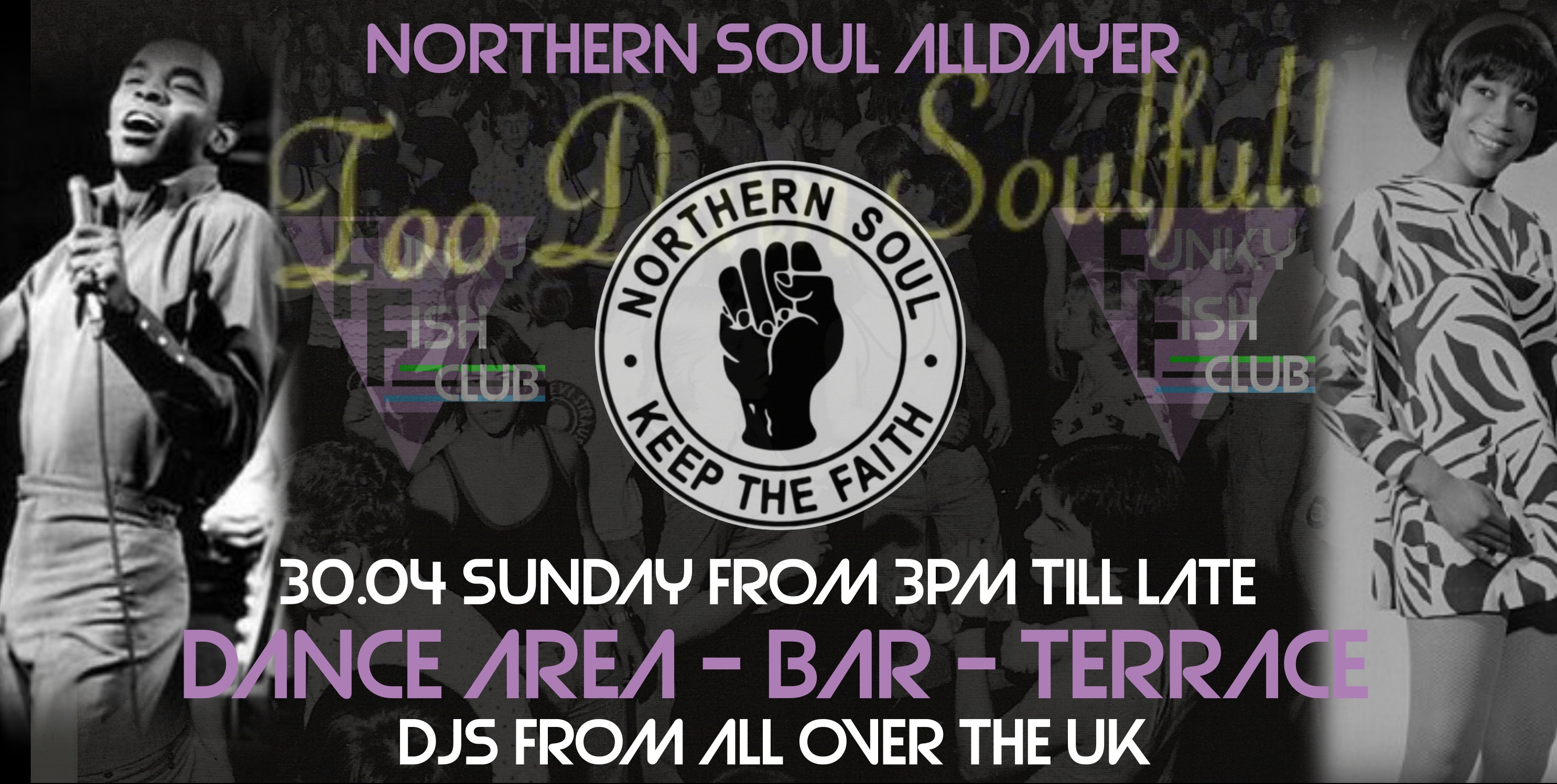 SUNDAY - NORTHERN SOUL ALL DAYER