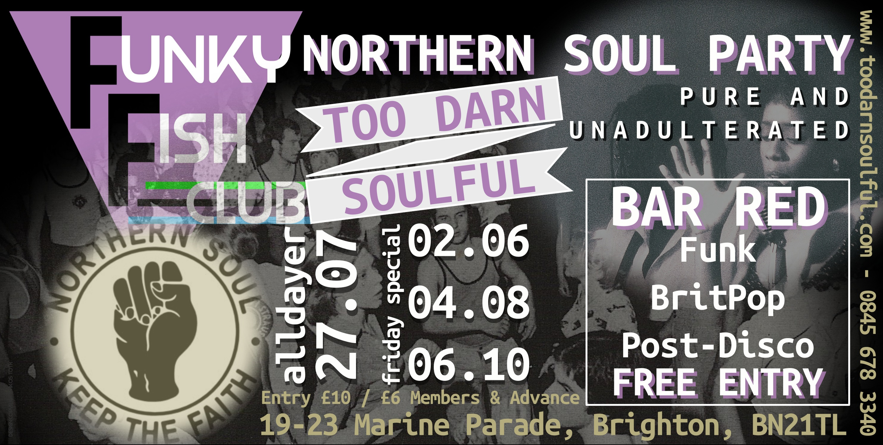 FRIDAY 2nd JUNE - NORTHERN SOUL