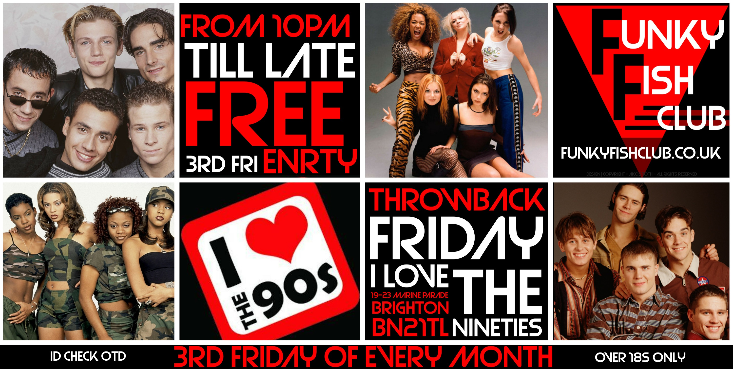 I LOVE THE 90s - FREE ENTRY