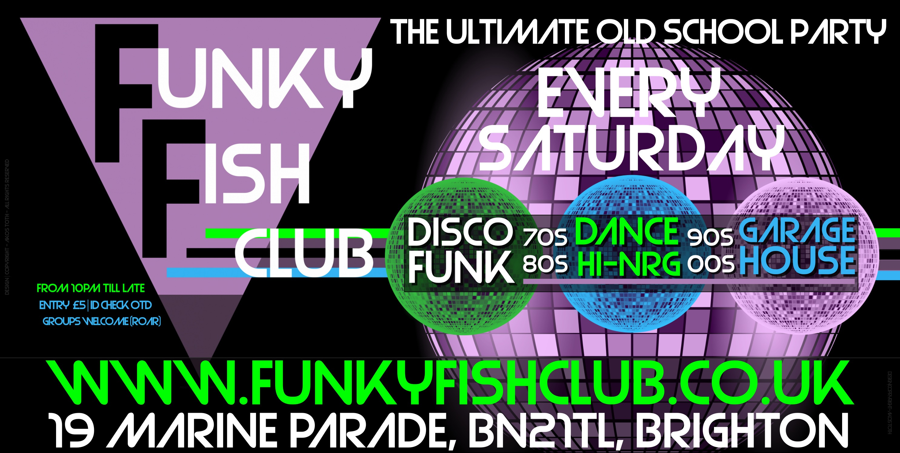 Saturday Club Night The Ultimate Old School Party