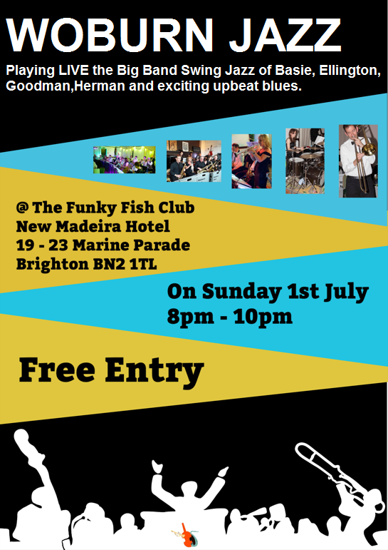 Woburn Jazz Band - The Funky Fish Club