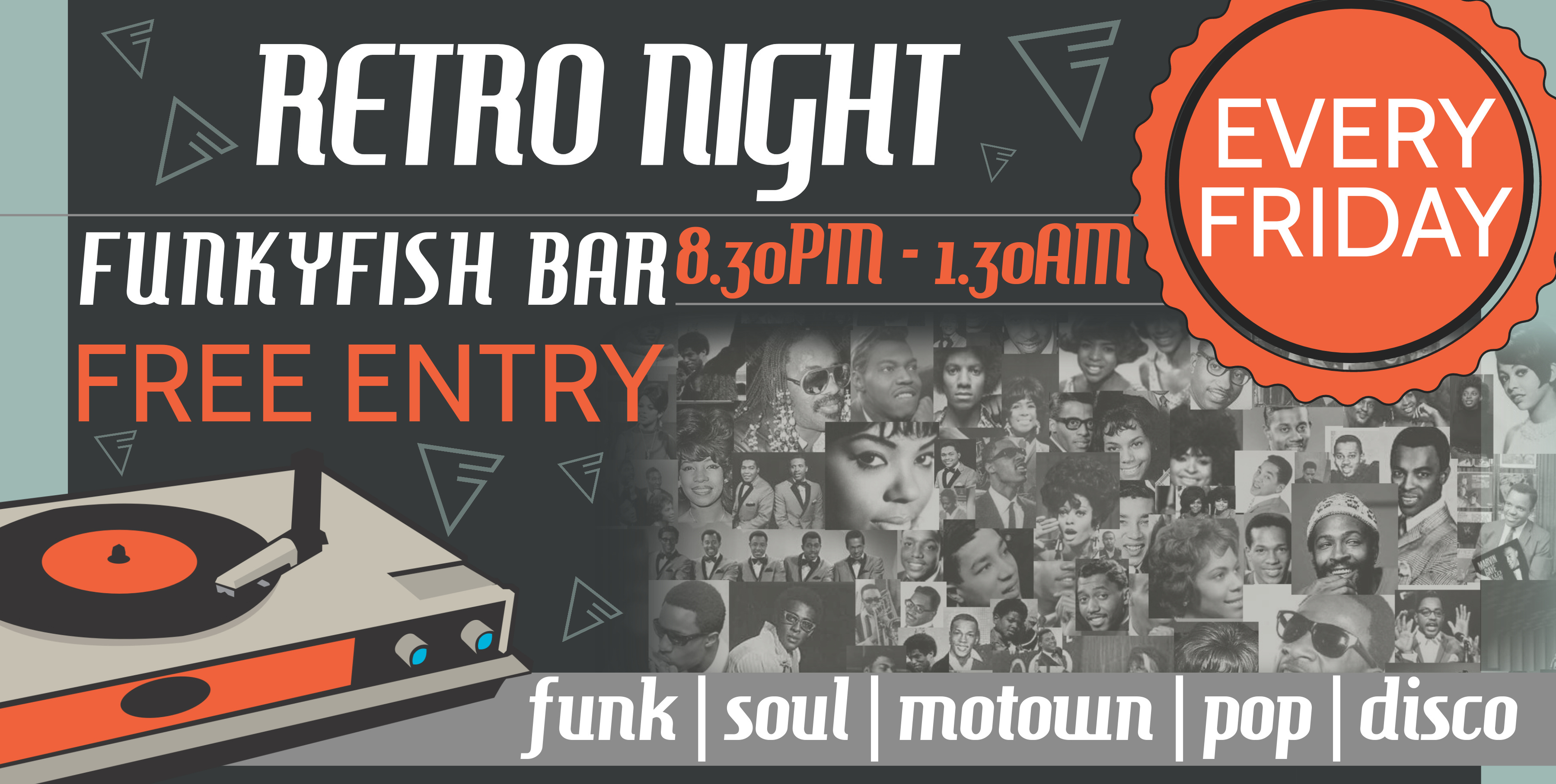 FRIDAY - RETRO NIGHT