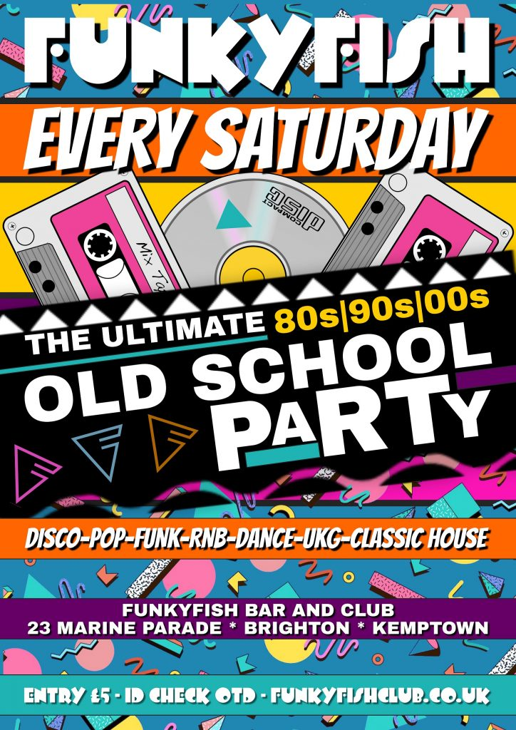 The Ultimate Old School Party @ FunkyFish Bar & Club
